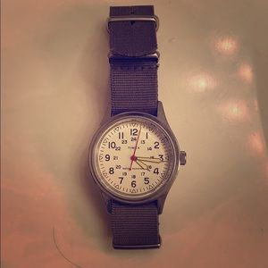 Timex for J Crew Field Watch with extra bands!